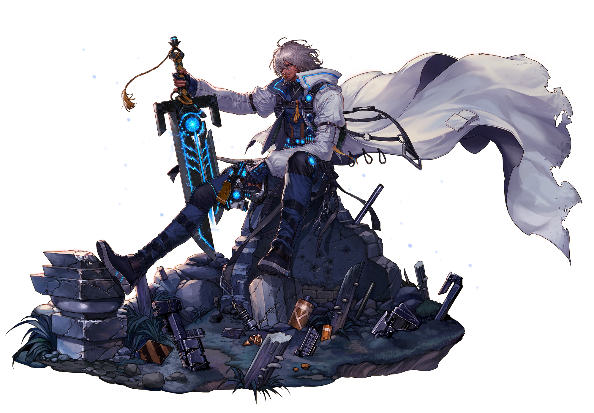 Your thoughts regarding DFO's new character - Gunblader? - Elsword