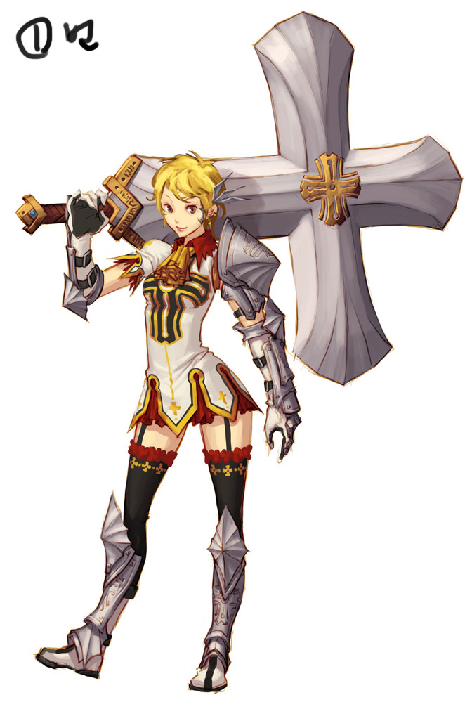 """Female Priest Original Concept"""