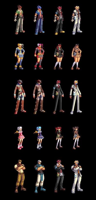 Dungeon Fighter Online Avatar Fashion