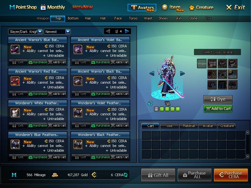item shop dfo world wiki